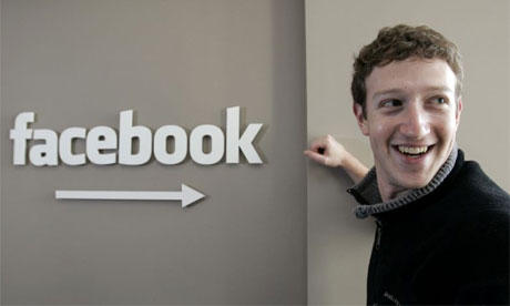 Facebook Founder Mark Zuckerberg Smiling Photo