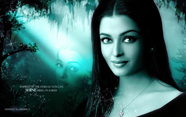 Aishwarya Rai Simple Hot Look Wallpaper