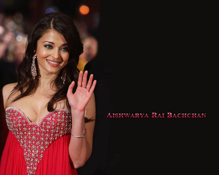 Hot Actress Aishwarya Rai Wallpaper