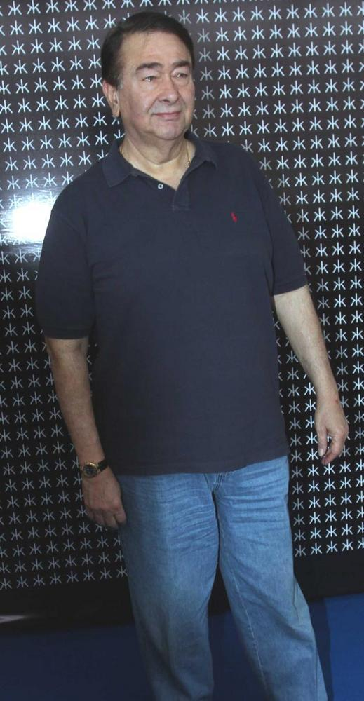 Randhir Kapoor Attend Hakkasan Anniversary Bash