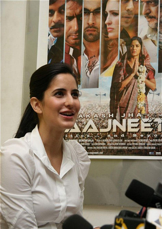 Katrina Kaif at a Promotional Event of Rajneeti