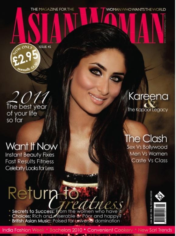 Kareena Kapoor Asian Women Magazine Still