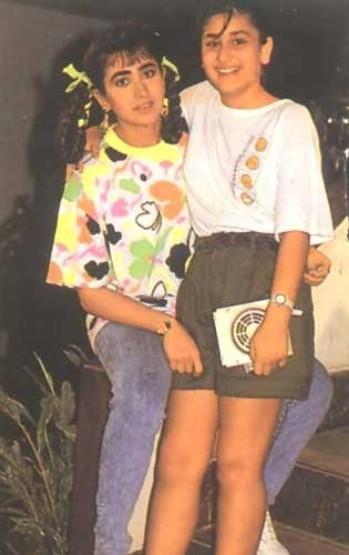 Kareena Kapoor Childhood Cute Photo