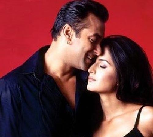 Salman And Katrina Kaif Romantic Pic