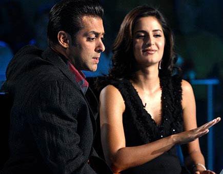 Salman With Katrina Kaif Cool Stills