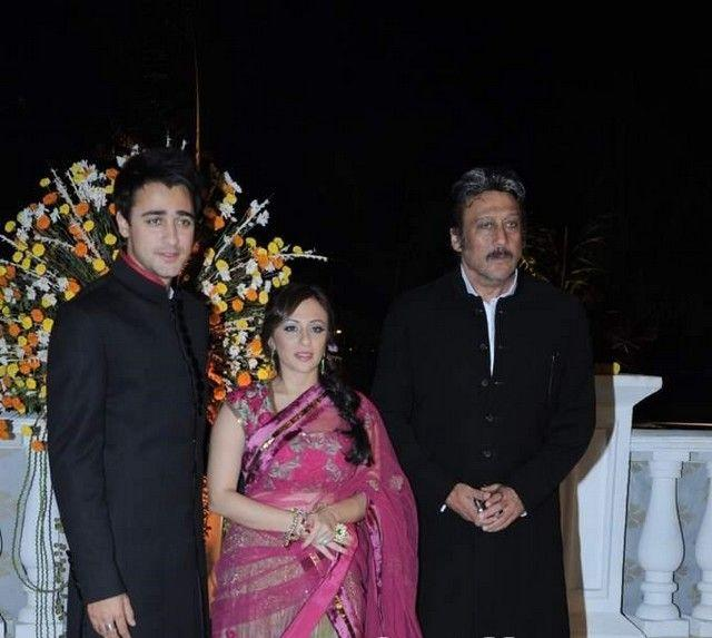 B Town Celebs At  Imran Khan and Avantika Wedding Reception