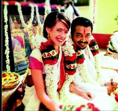 Anurag and Kalki Wedding Pic