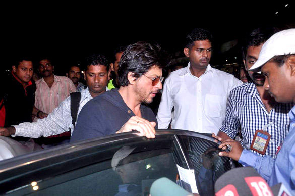 Shahrukh Khan At Airport In Stylist Looks On