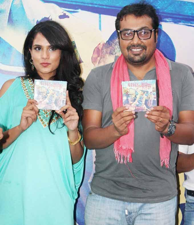 Richa And Anurag At Upcoming Gangs of Wasseypur Music Launch