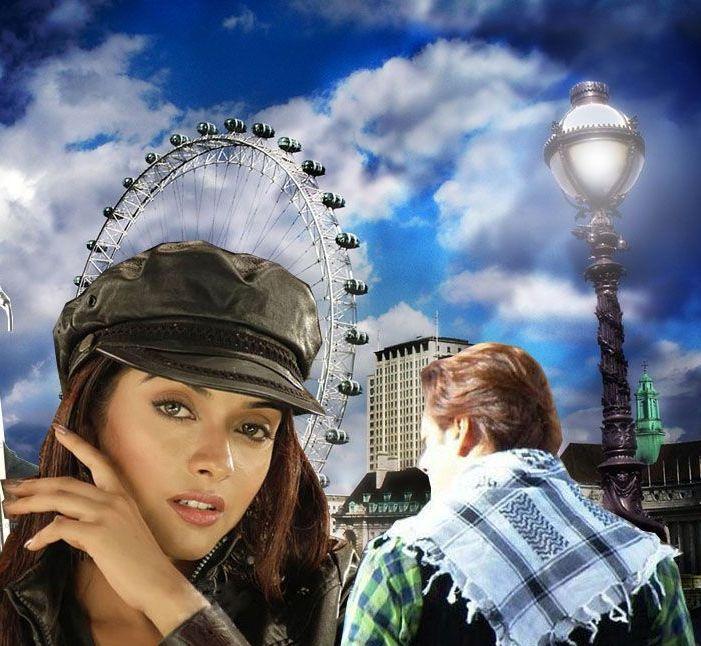 Asin Thottumkal and Salman In London Dreams