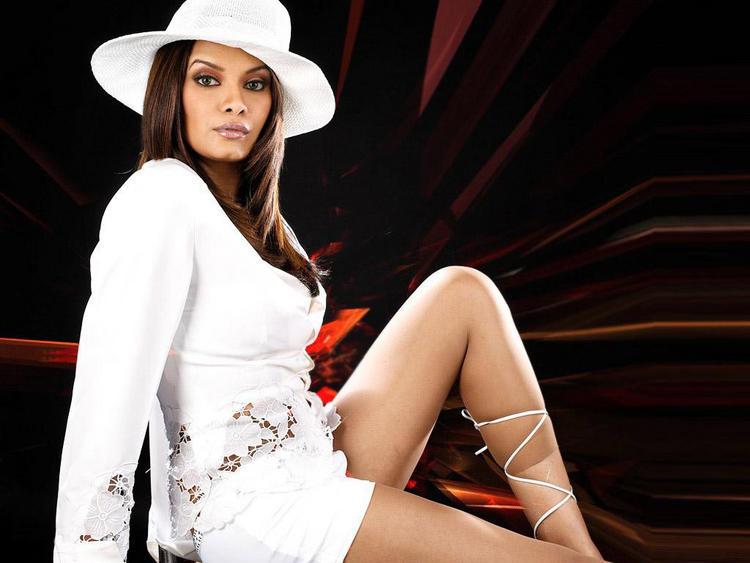 Diana Hayden Sexy Stylist Pose Wallpaper