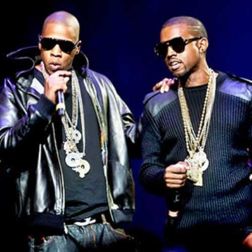 Kanye West and Jay Z Stylist Pic