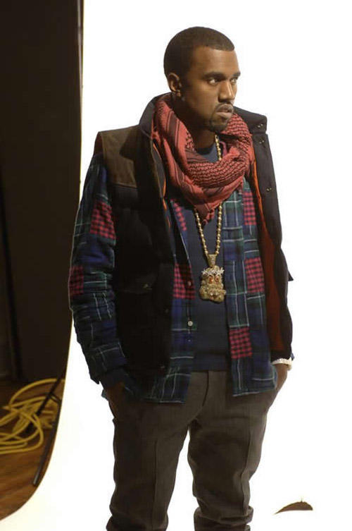 Kanye West Hot Look Photo