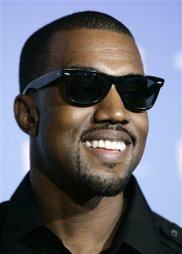 Kanye West Smiling Photo Wearing Goggles