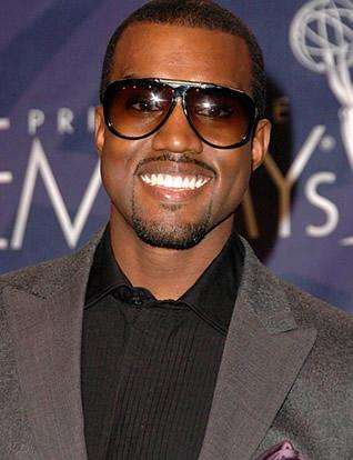 Kanye West Sweet Smiling Pic