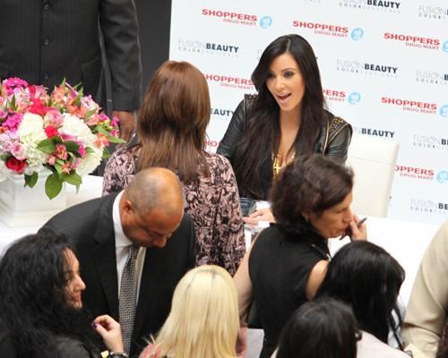Kim Kardashian at Her 30th Birthday