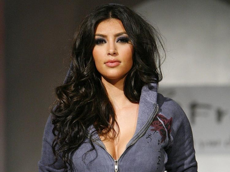 Kim Kardashian Nice Look Beauty Still
