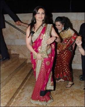 Rani Mukherjee In Saree Hot Stills