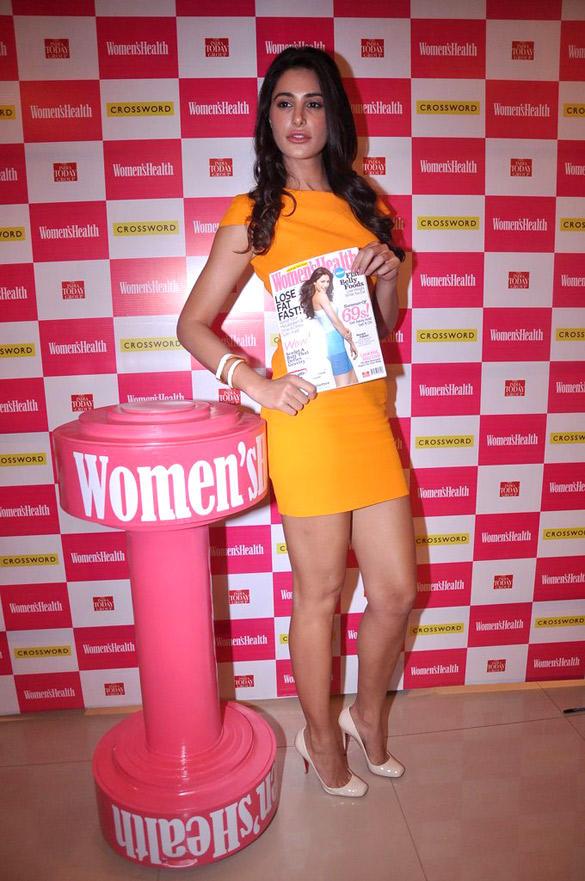 Nargis Fakhri Launches Women's Health Magazine June 2012