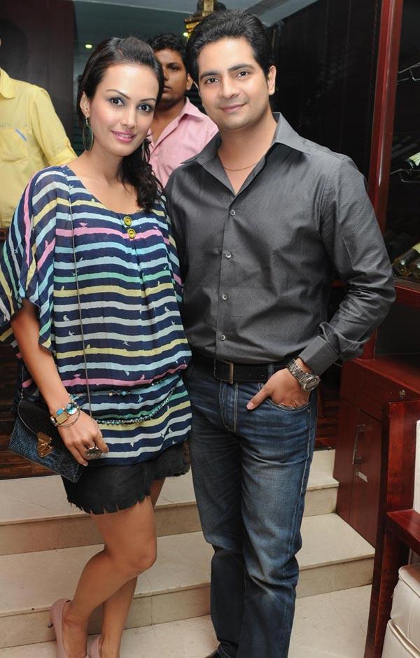Nisha With Karan At Anjali Pandey's Birthday Bash