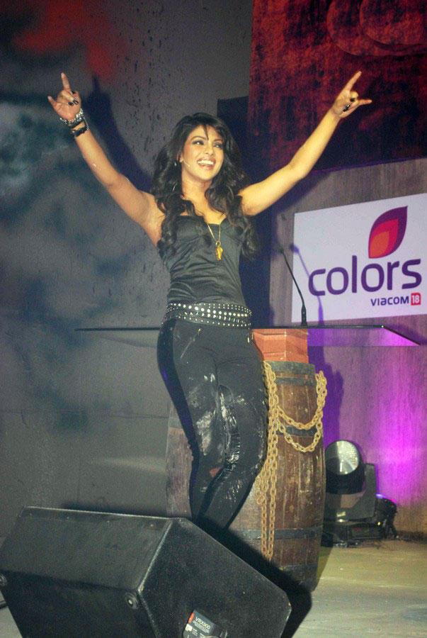 Priyanka Chopra Dancing Stills On Colors Channel