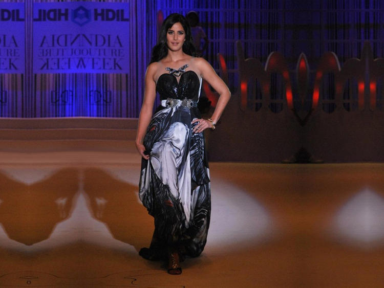 Katrina Kaif Black Dress Stylist Photo
