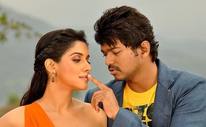 Asin and Vijay Sexy Pic In Tamil Movie Kavalan