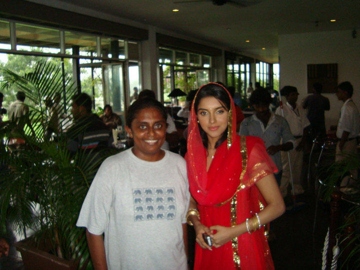 Asin Thottumkal On The sets Of Ready