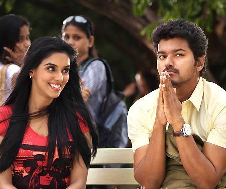 Vijay and Asin In Kavalan Movie