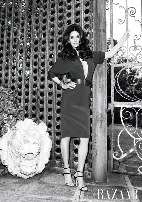Courteney Cox Harper Bazaar Magazine Pic