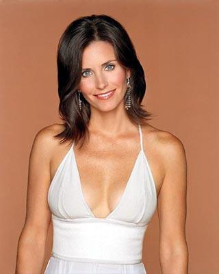 Courteney Cox Open Boob Cute Look Pic