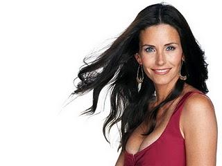 Courteney Cox Sweet Smile Hot Pic
