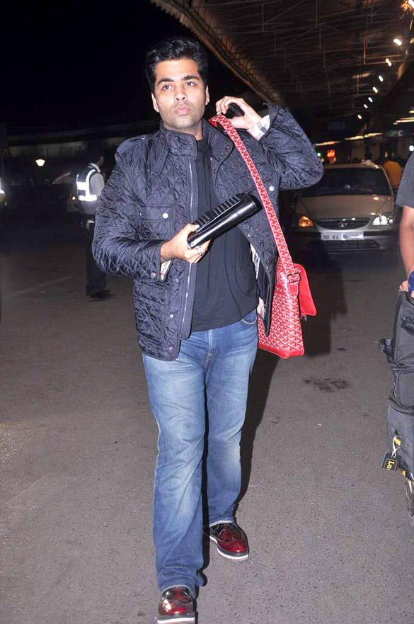 Bollywood Director Karan Johar Leave for London