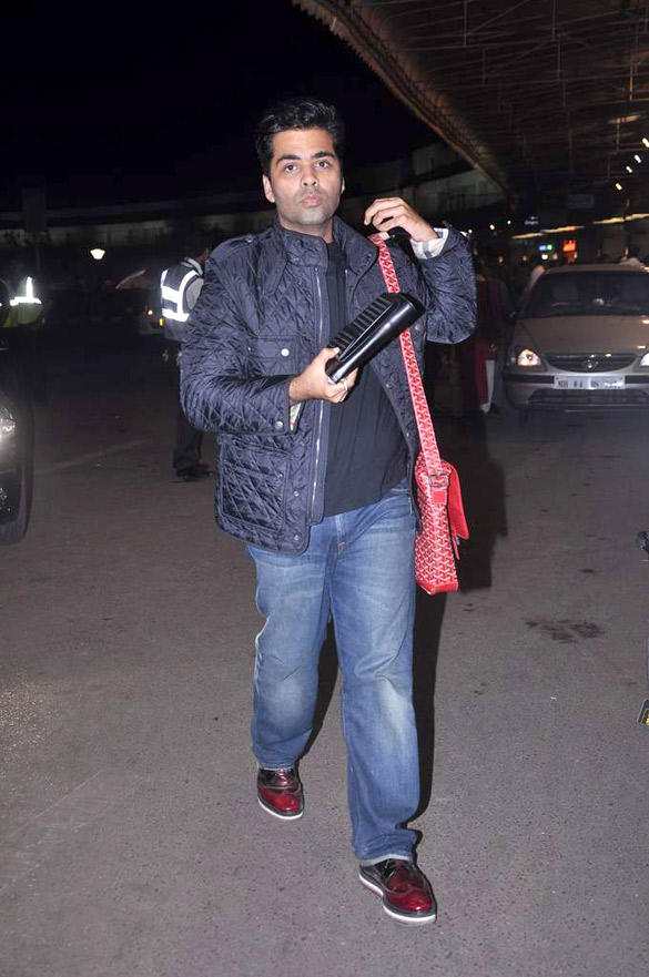 Karan Johar Jet Out To London