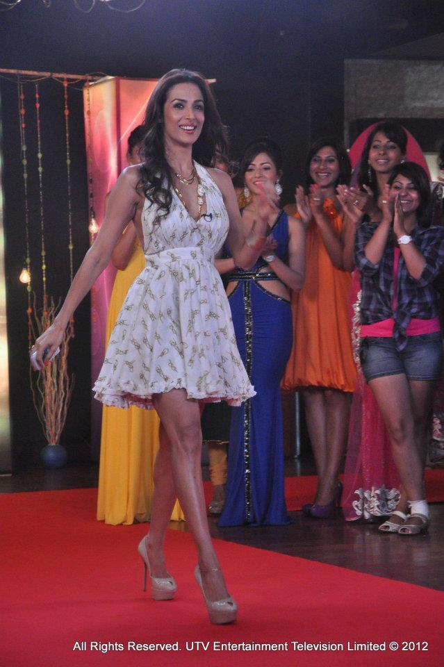 Malaika Arora Khan at Lux The Chosen One UTV Show