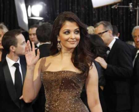 Aishwarya Rai at Oscar Award Ceremony