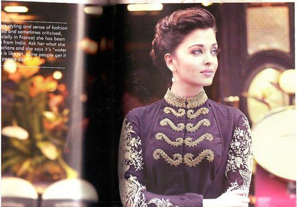 Aishwarya Rai Persian Love Affair Magazine Pic