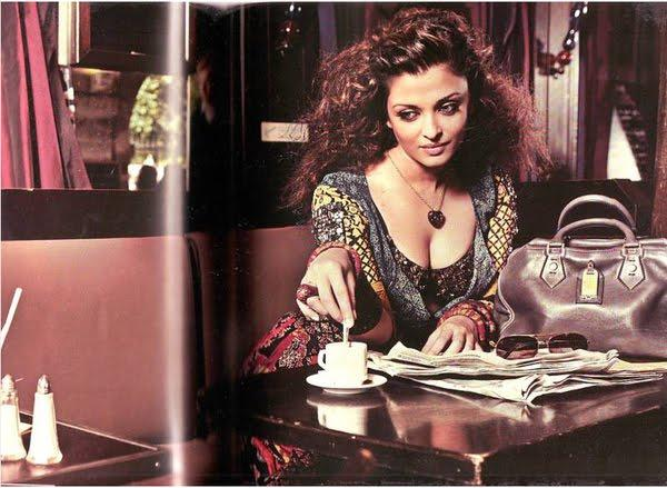 Hottie Aishwarya Rai Persian Love Affair Magazine Pic