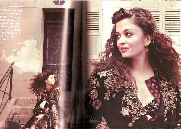 Stunning Beauty Aishwarya Rai Magazine Pic