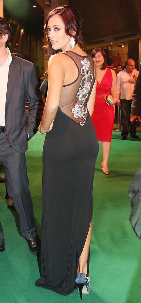 Hazel Keech at IIFA Rocks Awards 2012