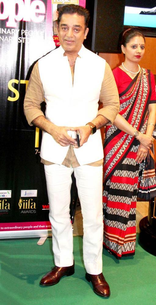 Kamal Haasan at IIFA Rocks Awards 2012