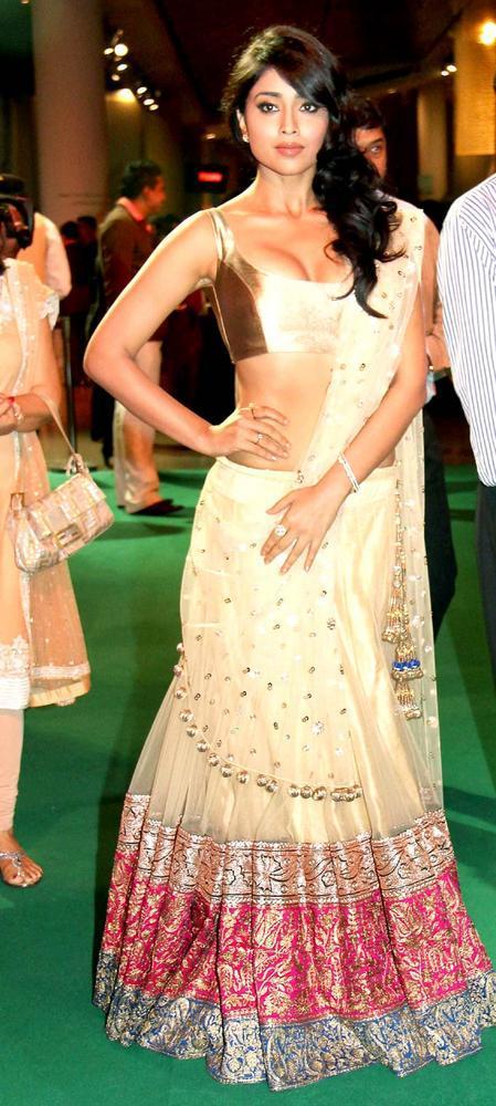 Sexiest Icon Shriya Saran at IIFA Rocks On Green Carpet