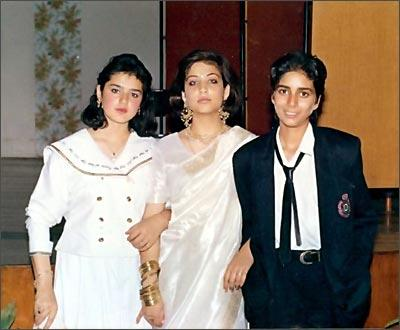Preity Zinta Young Age Cute Photo