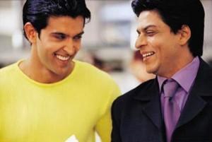 Shahrukh Khan and Hrithik In KKKG