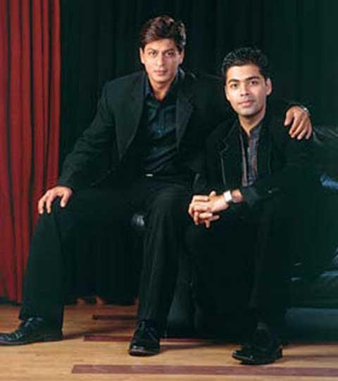 Shahrukh Khan With Best Buddy Karan