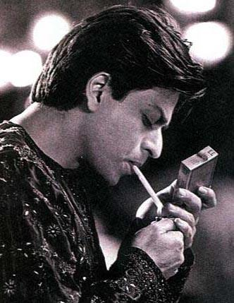 Shahrukh Khan Smoking Pic In Devdas