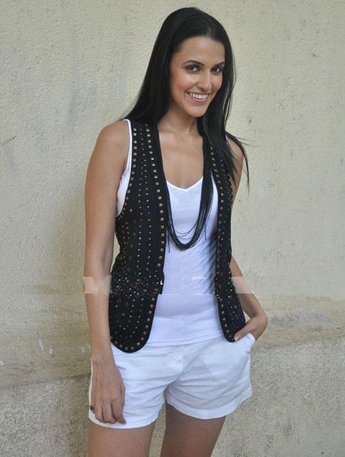 Neha Dhupia Looking Very Cute