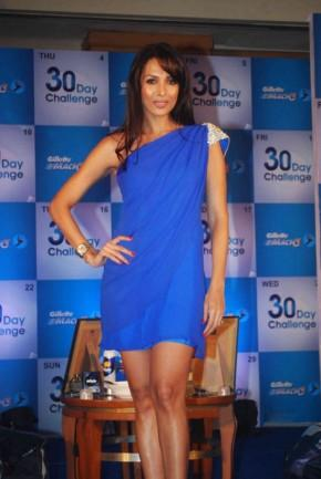 Malaika Arora Has Thrown Open The Gillette Mach3 30 Day