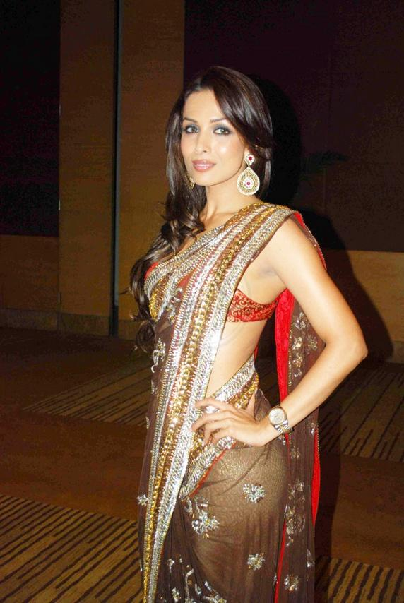 Malaika Arora Khan Looking Beautiful in Gorgeous Saree