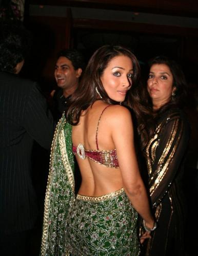 Malaika Arora Khan Sexy Back Exposing Still